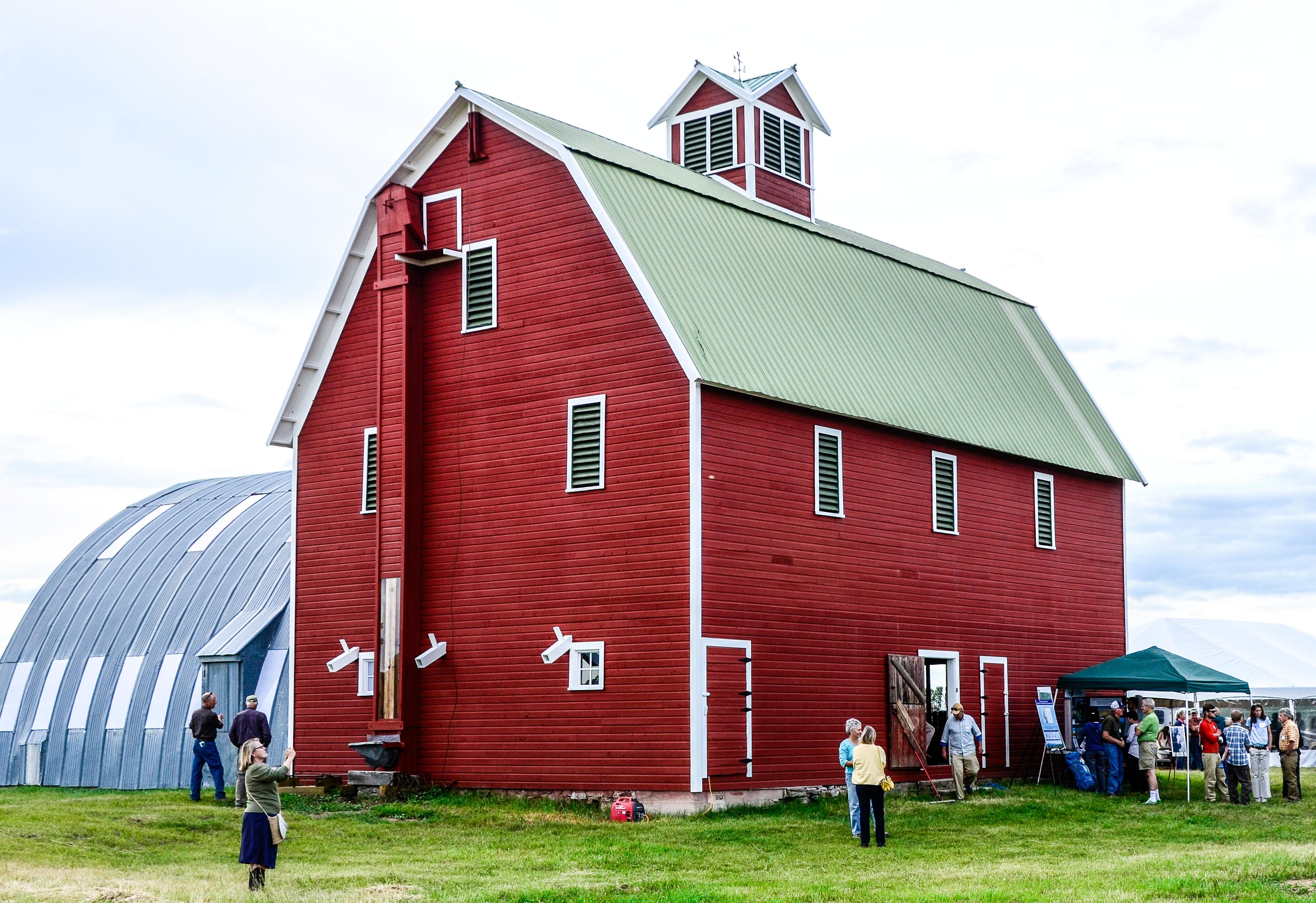 Restored Barn NShore Celebration 082114