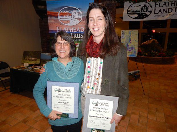 Gael Bissell and Constanza von der Pahlen Receive 2019 Conservation Leadership Award